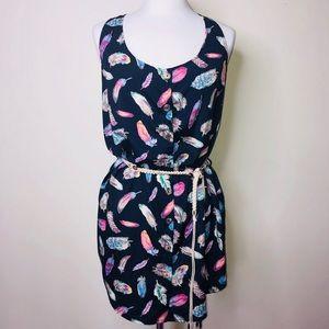 Karlie lightweight dress Size:Large 👗💙💚💛💗